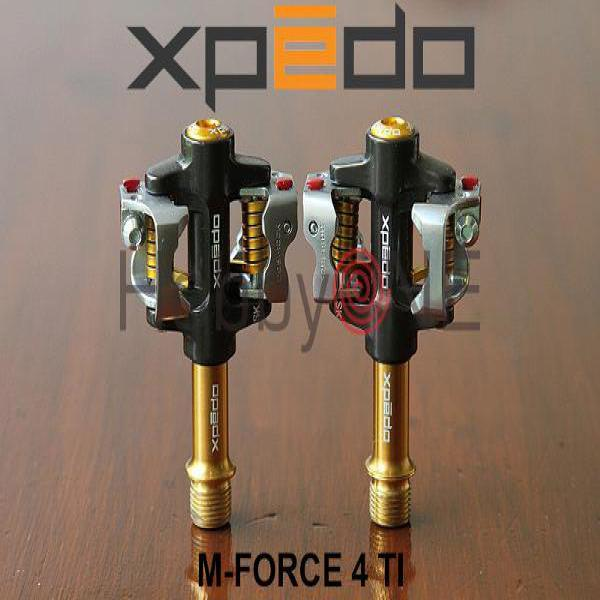 xpedo  M-FORCE 4 Ti - Shimano SPD Compatible