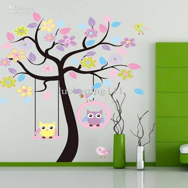 ... Home Decor Wallsticker Stiker Dinding Jm7251 Owl And Animal Tree Daftar Update Harga Source