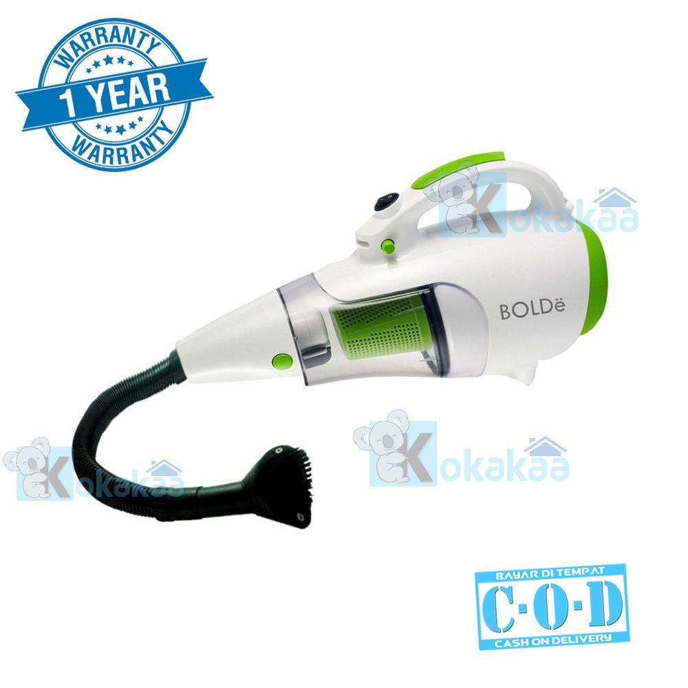 Bolde Turbo Super Hoover Vacuum Cleaner plus Blower LongHose & Elastic Hose 2 in 1 - Putih