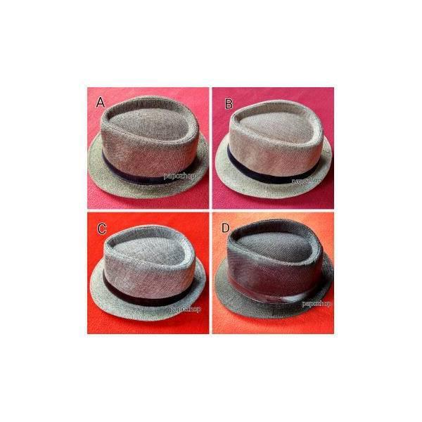MURAH Topi Fedora Panama Tribly / Floppy Pantai Hat