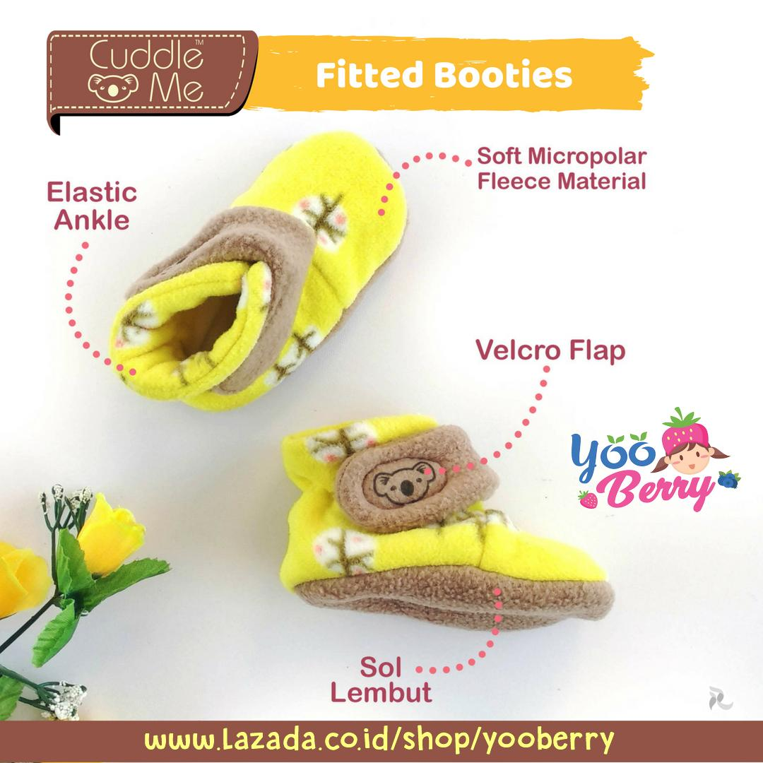 Fitur Cuddle Me Sepatu Bayi Prewalker Fitted Booties Tree Yellow Polo Mini White Baby Yooberry 2