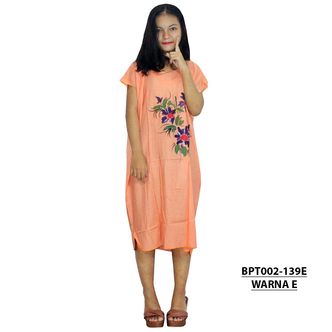 Midi, Daster Midi, Dress Santai, Baju Tidur, Piyama, Atasan Batik (BPT002-139) Batikalhadi Online