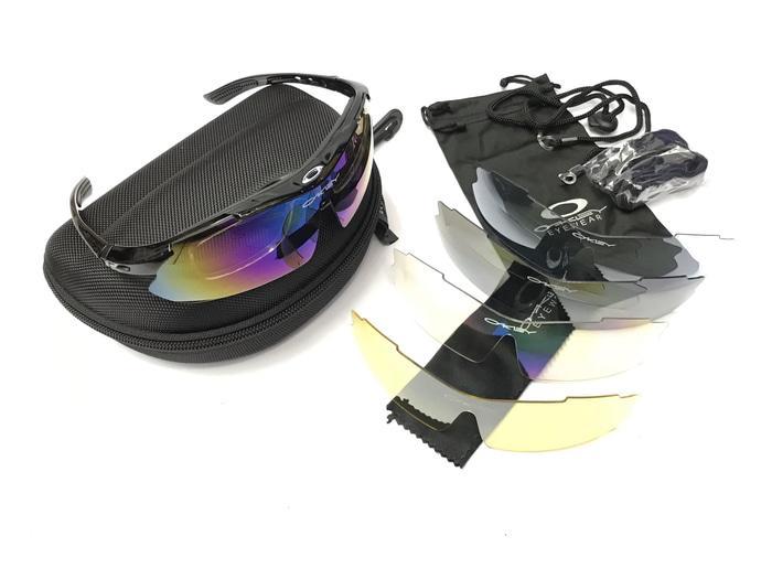 Best Seller!! Kacamata Oakley Magnum 5 Lensa Outdoor Sport Fullset - ready stock