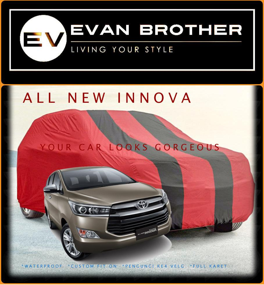 Body cover / sarung mobil All New Innova Waterproof