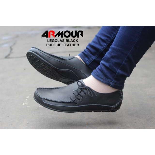 Sepatu Kulit Asli Bally Slop Santai / Sepatu Casual Pria Kerja Kantor Pesta / Slip On Murah Tan