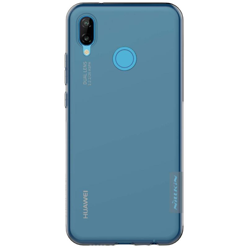Nillkin Original Nature TPU Soft Case / Jelly Soft Case for Huawei P20 Lite - Abu Abu