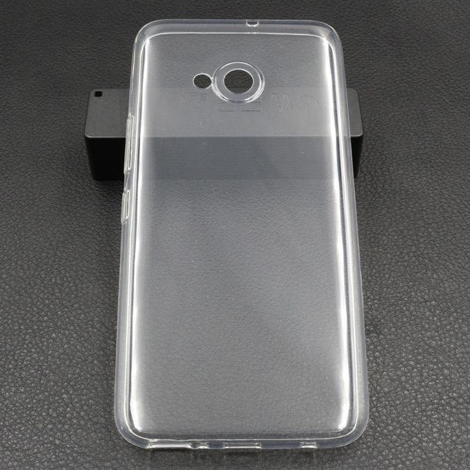 Luxury Ultra Thin TPU Case for HTC U11 Life - Transparen