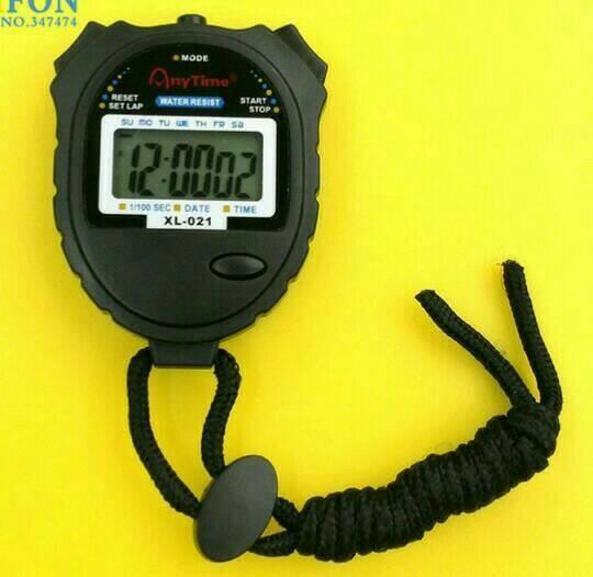 PROMO Alat Deteksi Waktu Trimmer Sprint Lari/StopWatch AnyTime XL-021 Murah. TERLARIS