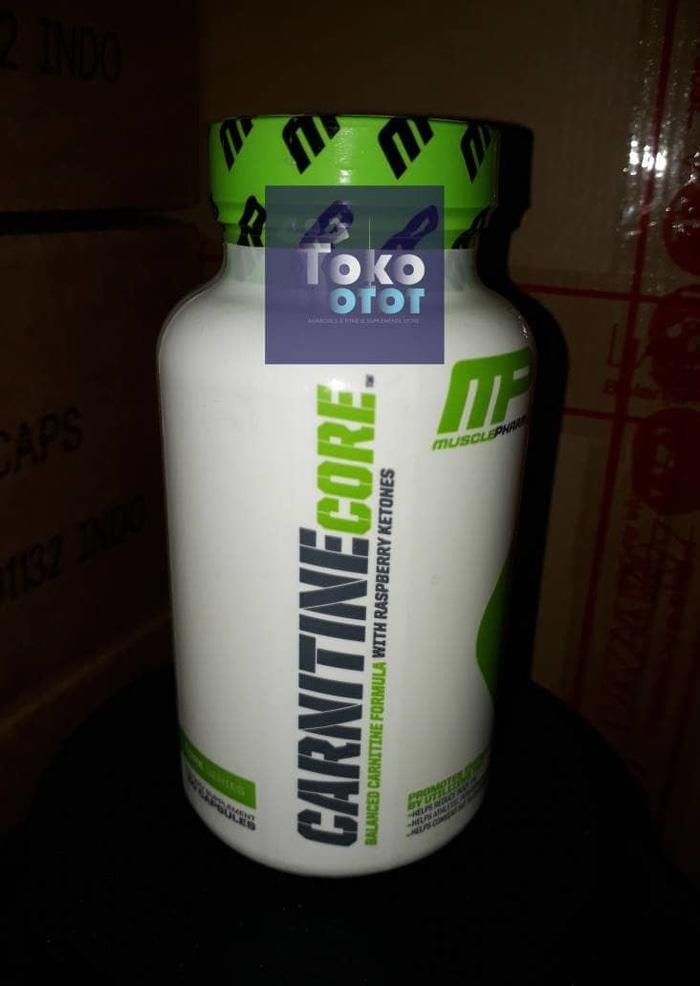 L CARNITINE CORE MP 60 Capsules LCarnitine L-Carnitine Muscle Pharm - rqPPoQ