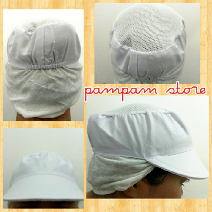 Fitur Topi Pet Chef Topi Pet Koki Chef Pet Circle White Dan Harga ... a4dde8c2e3