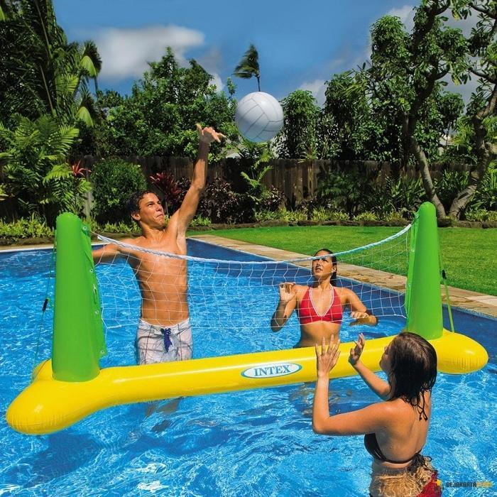 INTEX Volley Ball Game | Bola Volly / Voli Air / Kolam Renang - 6jdX7b