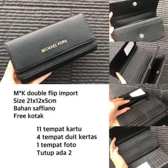 SALE Dompet Michael Kors / Dompet Lipat Import / Kado Dompet Panjang - hGV3jF