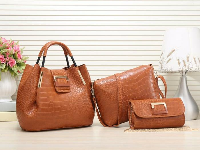 TAS WANITA BRANDED IMPORT BONIA BAG SET 3IN1 9919 MURAH
