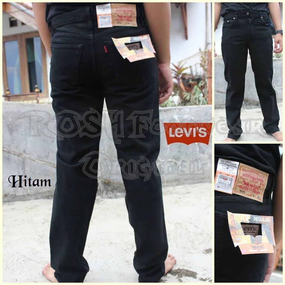 Kelebihan Celana Levis Pendek Standar Jeans Pria Best Seller Terkini 505 Lurus