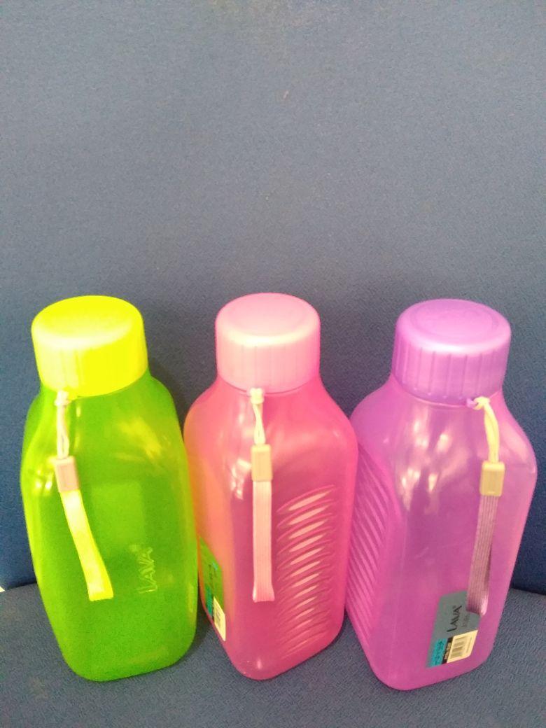 Botol Air Plastik dengan Gagang Tali - 2 ...