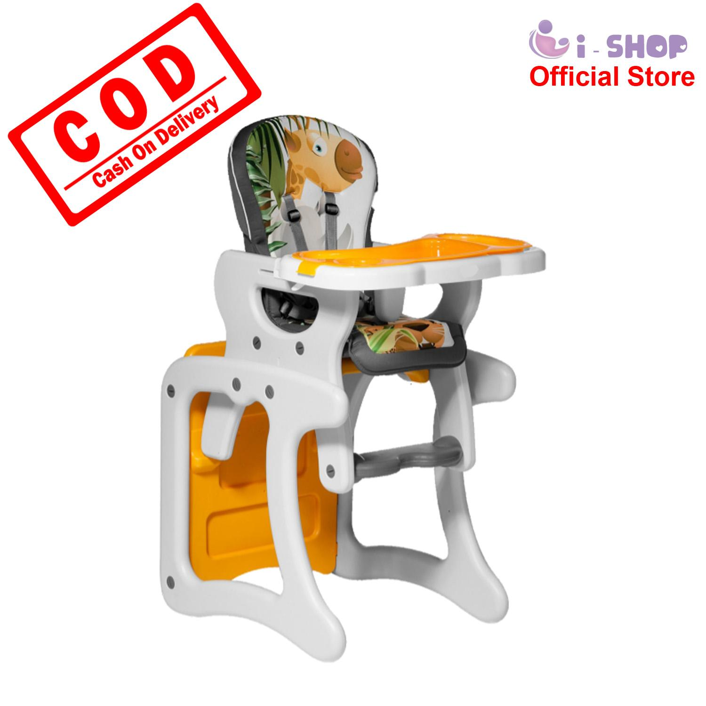 i-shop Baby Safe Separable High Chair HC01C / Kursi Makan Bayi / Meja Kursi Belajar Anak / Kursi Tinggi Bayi / Meja Kursi Aktifitas Anak