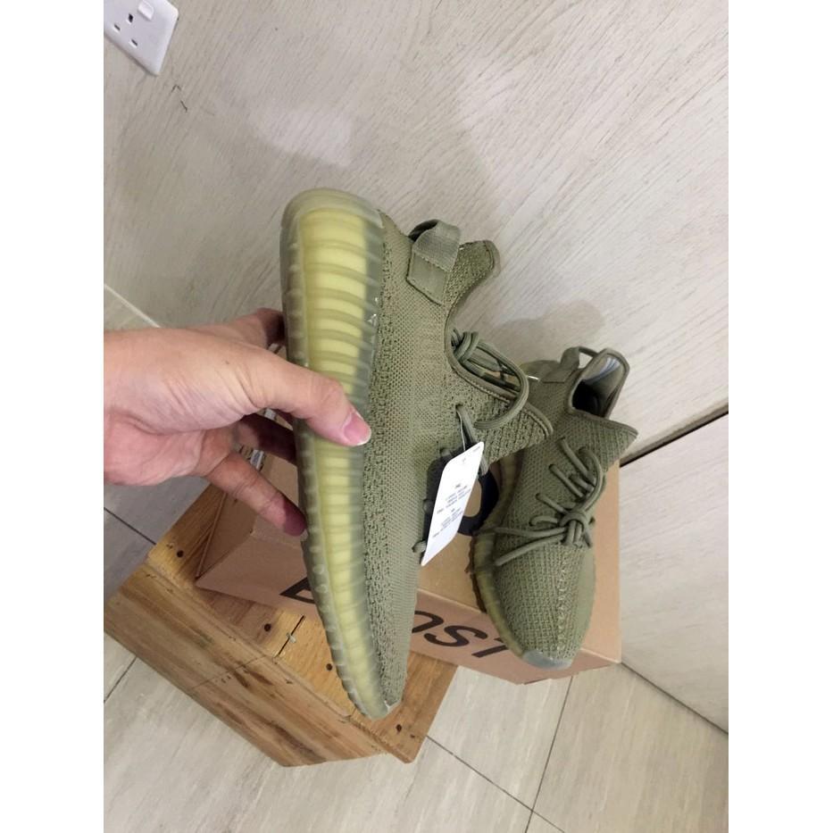 Promo Termurah Adidas Yeezy 350V2 Dark Green Real Pic Quality PK Made In China Gratis Ongkir