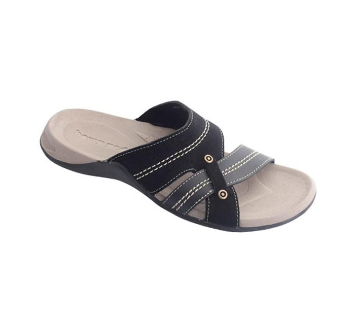 Homyped Green Land 02 Sandal Casual Pria - Black
