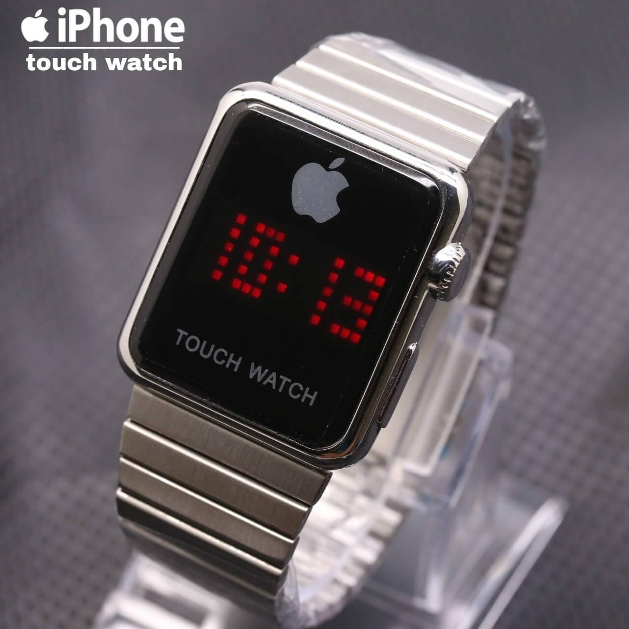 Fitur Jam Tangan Touch Screen Eiger Dan Harga Terbaru Daftar Iphone Pria Smart Watch Stainless Steel Limited Edition
