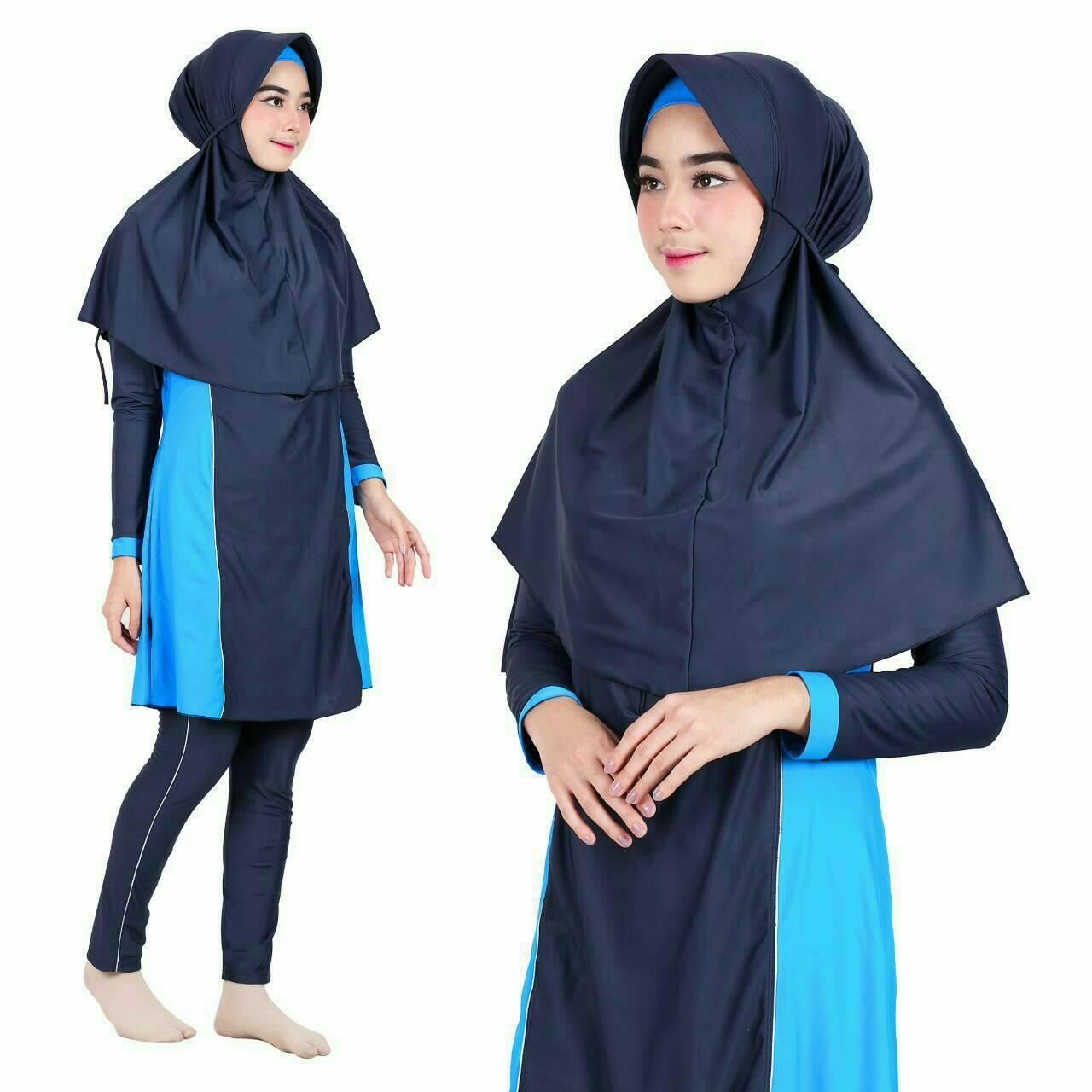 Baju Renang Muslimah Premium by Aghnisan Collection Size XXL - 2 ...