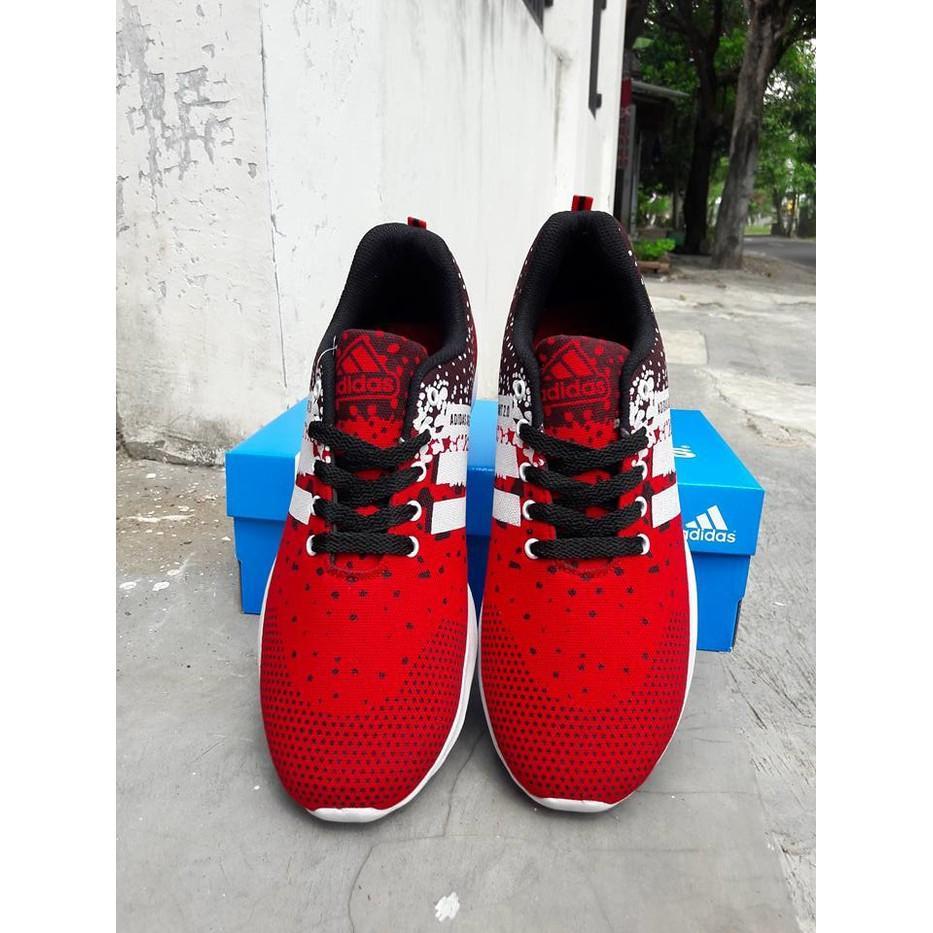 Promo Termurah Sepatu Jumbo Adidas Adizero Knit 2.0 Merah / Bigsize / Olahraga / Big Gratis Ongkir