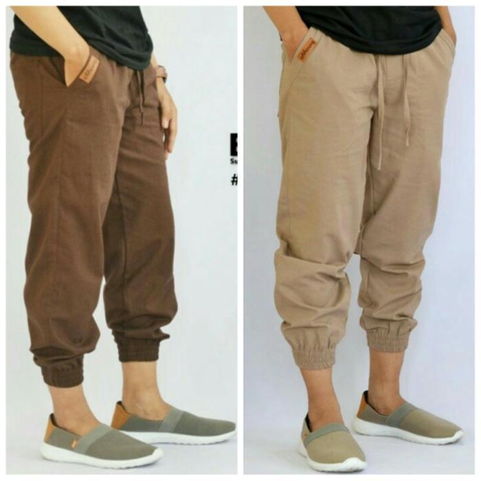sirwal jogger pants original bunayya / celana jogger pants