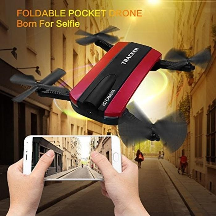 DRONE : JXD 523W Tracker Mini Rc WIFI Camera 4CH FPV Quadcopter -Murah