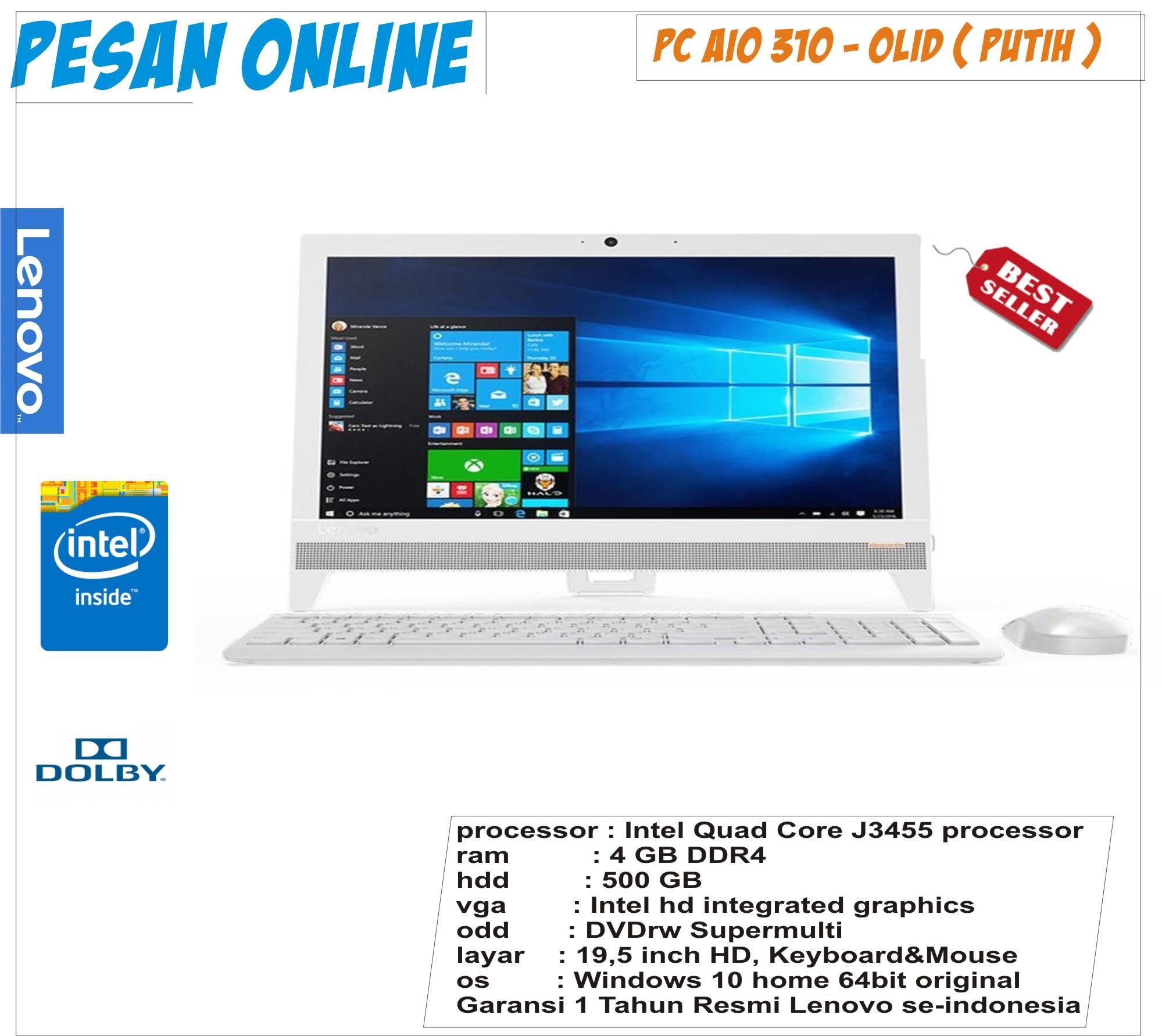 Beli Lenovo Ram 4gb Ip 320 Amd A4 9120 Hdd 500gb Vga R3 Graphics Layar 14 Inch Aio 310 0lid Intel J3455 Focl000lid Win10 195 White Garansi Resmi
