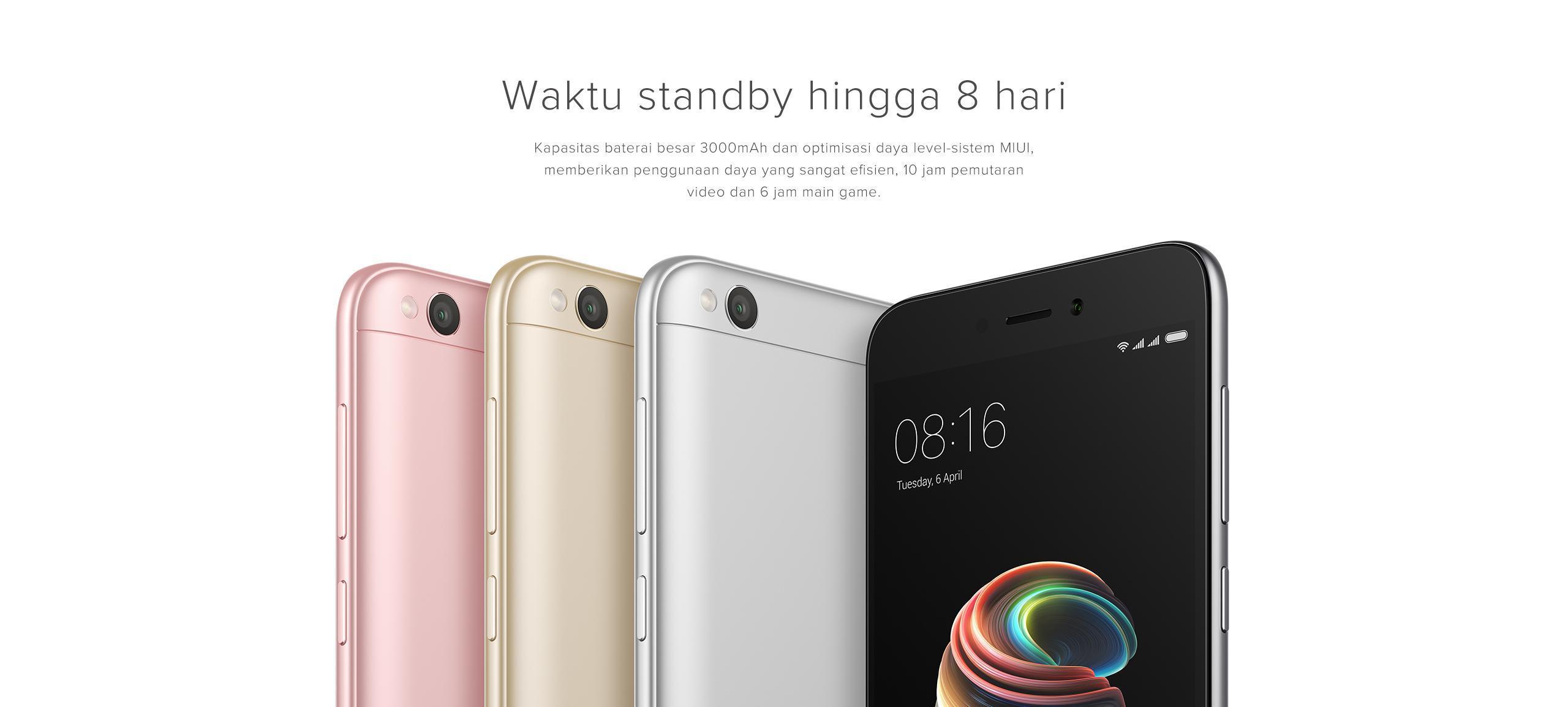Xiaomi Redmi 5A saat ini menjadi salah satu smartphone yang terkenal dengan smartphone Android dengan harga murah tapi memiliki desain mewah serta