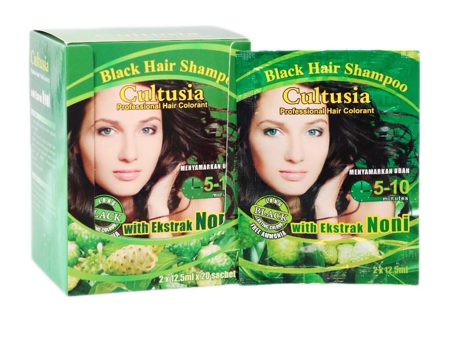 Cltusia Shampo Noni Black 25 ml * 3 pcs