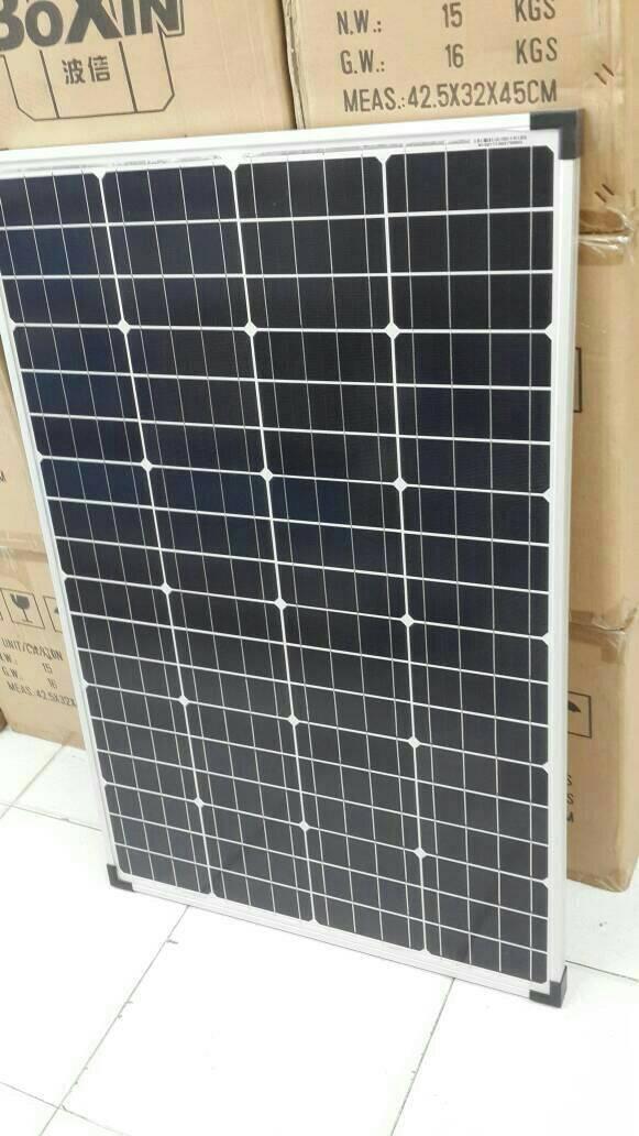 Harga Promo Solar Panel / Solar Cell / Panel Surya Dekade 100wp Mono