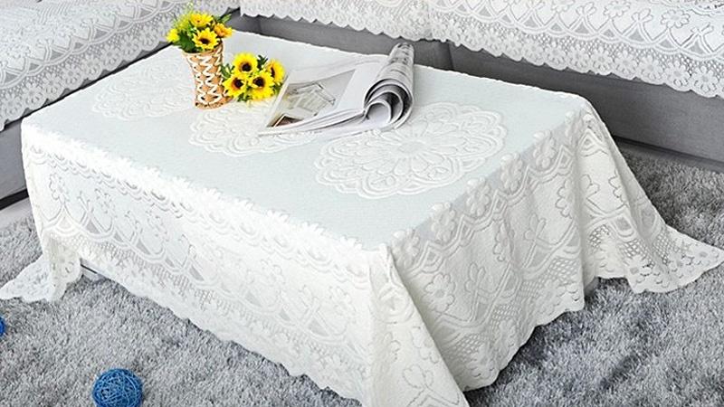 Oleno Kitchen Taplak Meja Bulat Dekorasi Meja-Putih. Source · Bulat: 180 cm