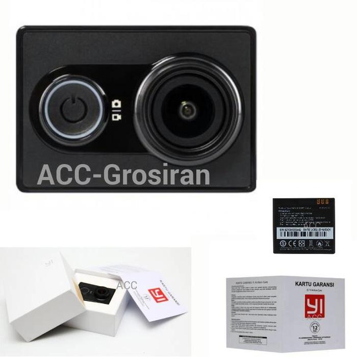 Kamera /  Kamera Digital Action Camera Xiaomi Yi Cam Black (Versi Internasional) - Hitam / Camera xiamoi