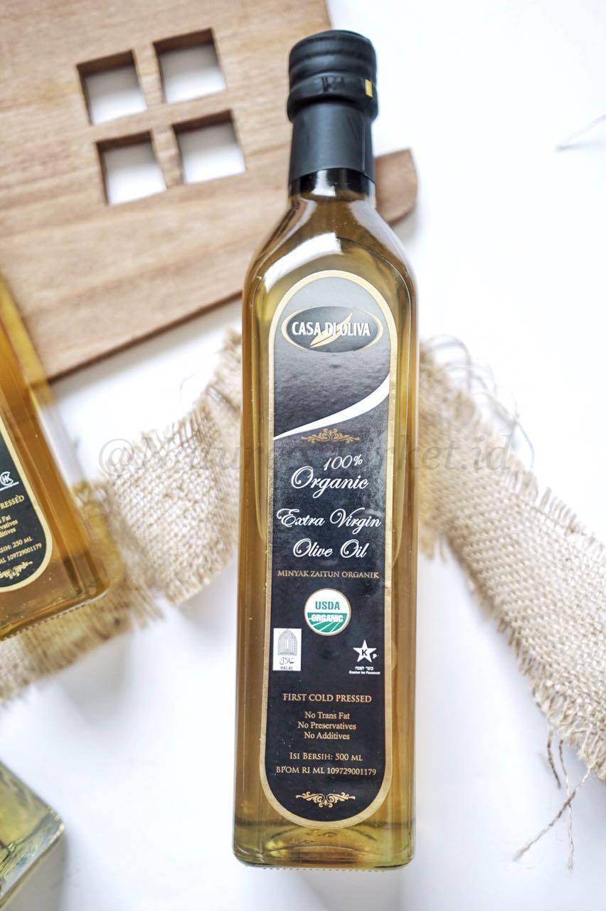 Naturesmarket.id - CASA DI OLIVIA ORGANIC EXTRA VIRGIN OLIVE OIL 1000 ML