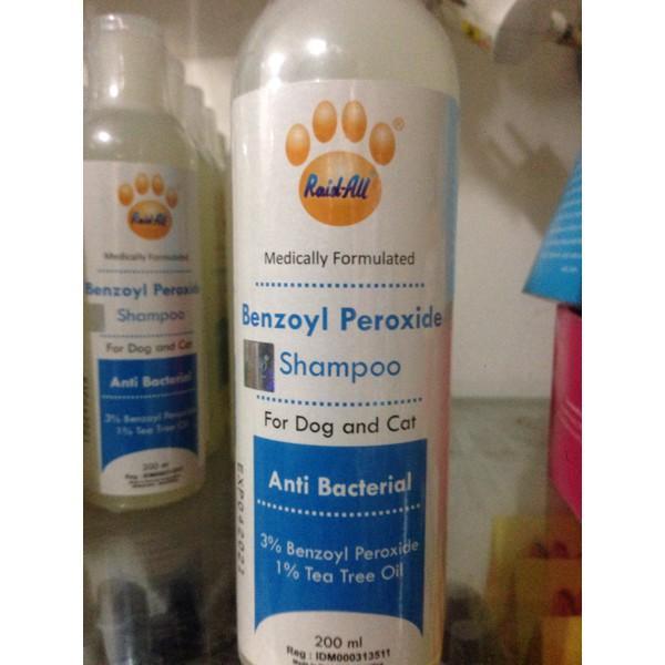 Shampo Kucing anjieng Anti Bacterial Benzoyl Peroxide NEW