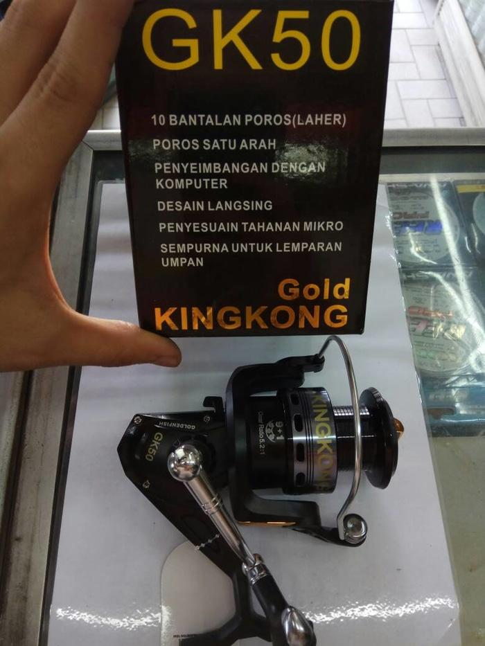 rell/reel pancing golden fish kingkong gk50