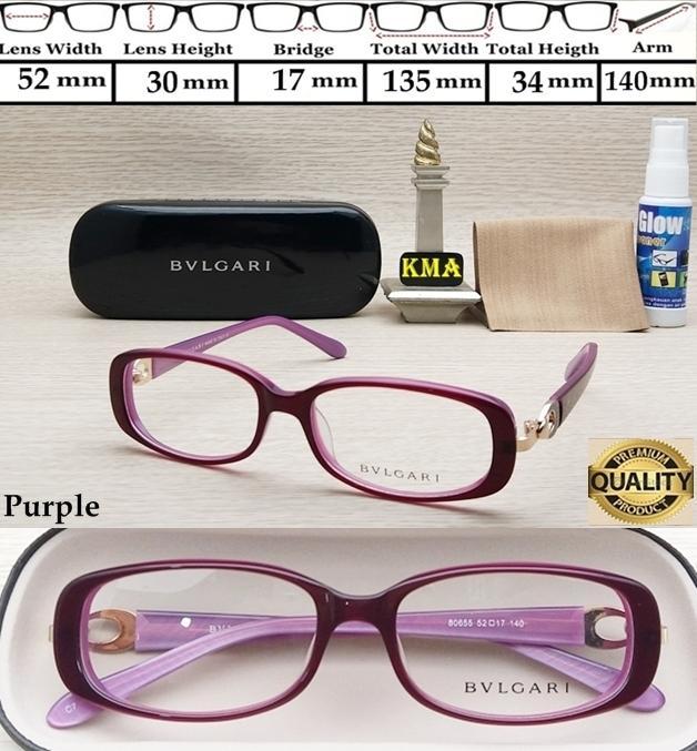 frame minus BVLGARI frame kacamata minus bvlgari premium frame terbaru