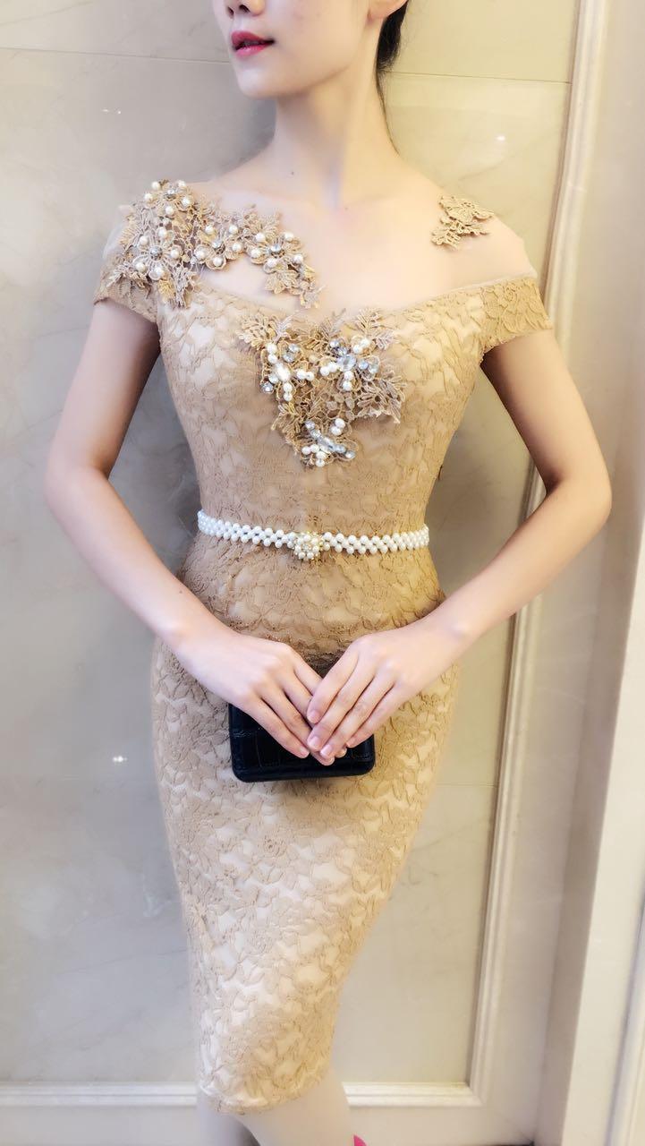 6103# baju pesta import / baju seksi / baju pesta selutut / dress fashion import