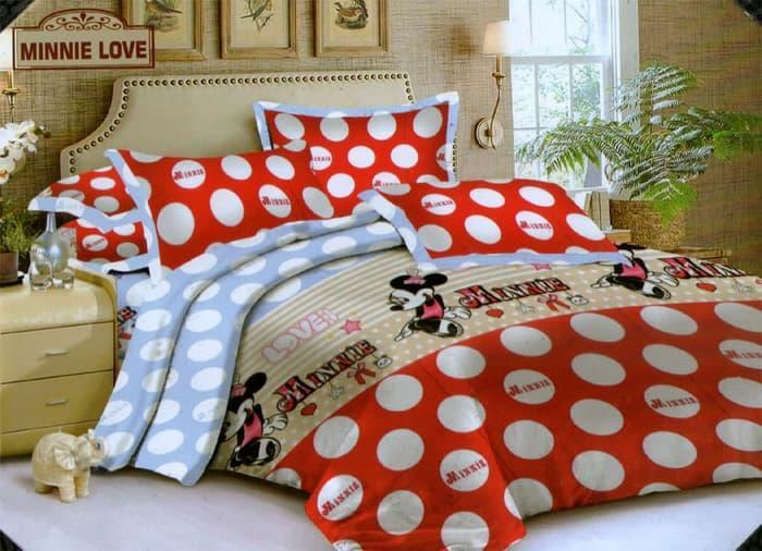Bedcover Endless Love ukuran 120x200 - Minnie Love