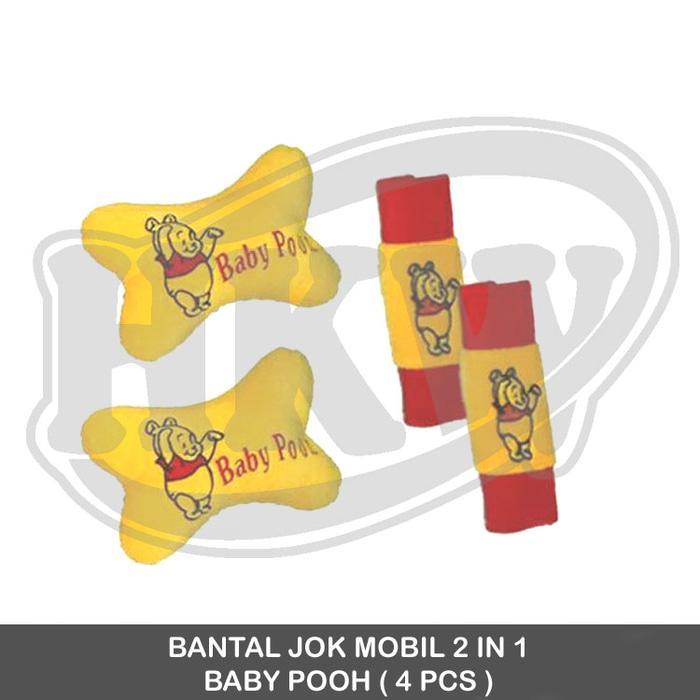 Bantal 2 In 1 Baby Pooh Mobil Mitsubishi Kuda