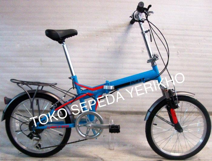 BEST SELLER!!! Sepeda Lipat 20 United Quest CL-02 Boncengan - A0ScnI