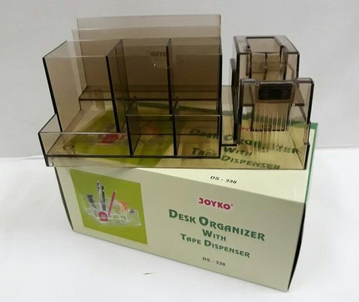 Desk Organizer / Kotak Tempat Pensil Tatakan Pensil Tempat Alat Tulis Alat Kantor Meja Desk Set JOYKO DS-338 DS338