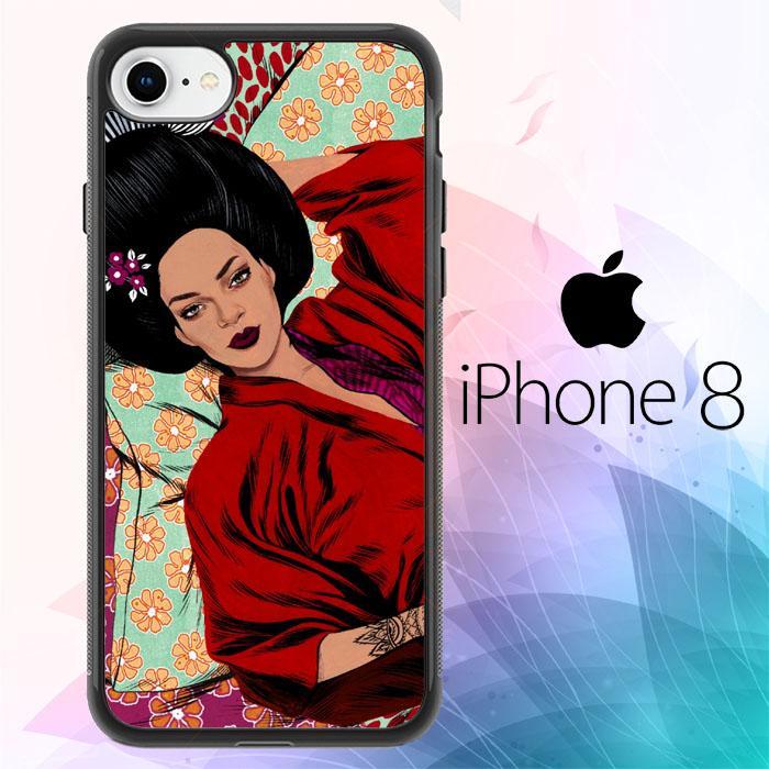 Rihanna Japan Animation S0249 iPhone 8