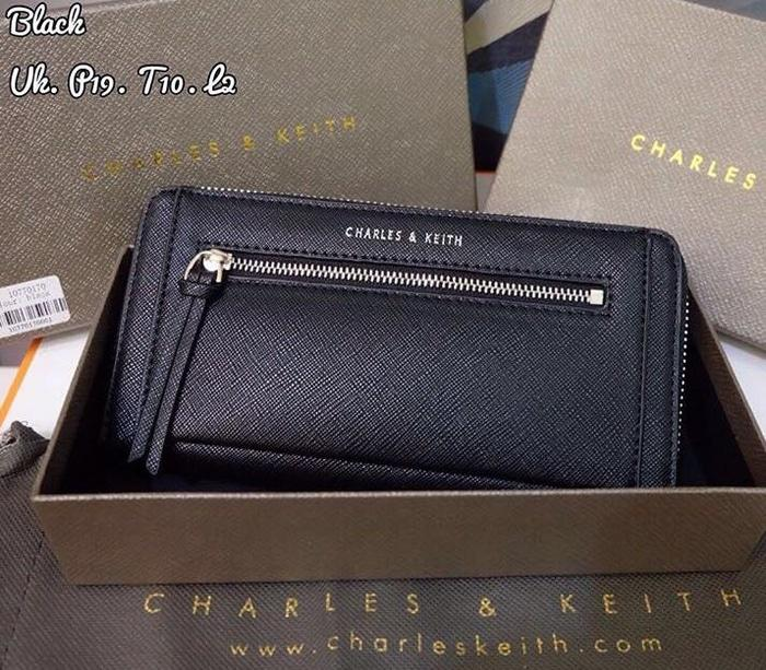 DOMPET WANITA ORIGINAL CHARLES AND KEITH ZIPPER ORIGINAL (ORI) - v95Zhf