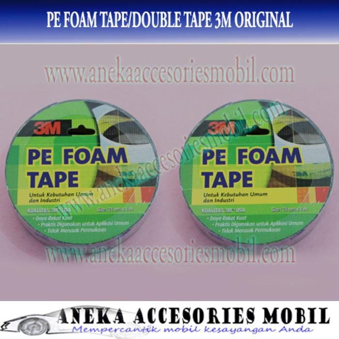 PE Foam Tape/Lem Perekat/Double Tape 3M Original/Asli 2,4