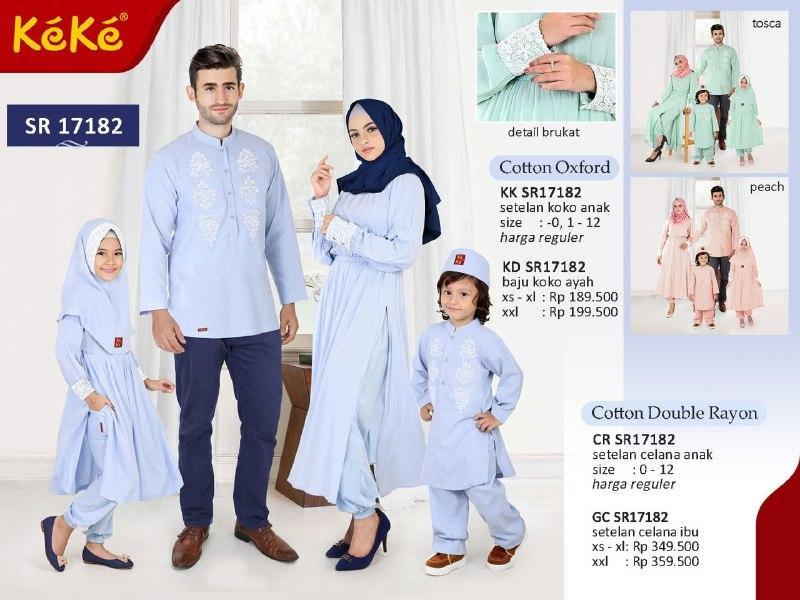 Qonitah Project KK SR 17182 Size 2 Original Keke Busana Koko Anak Lengan Panjang Busana Muslim Baju Muslim Branded