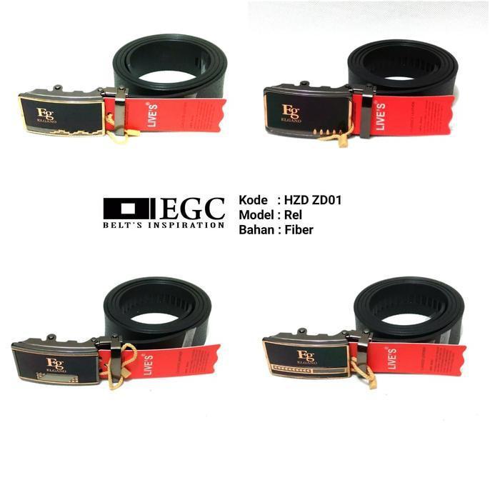 Gesper Tali Ikat Ban Belt Pinggang Kulit Pria Laki Cowok Import Impor - Myu6an