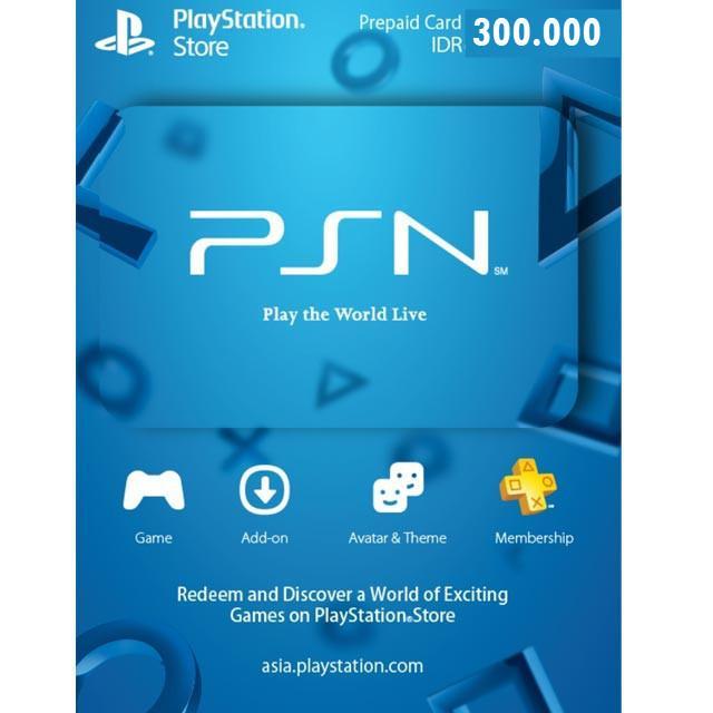 Playstation Network Card ID 300000 - Digital Code