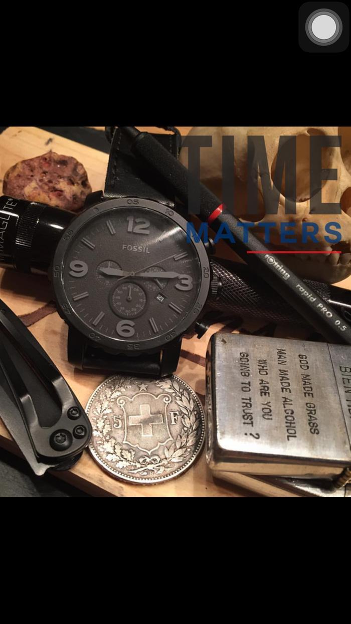 Kelebihan Jam Tangan Pria Merk Fossil Jr 1354 Jr1354 Original Fs4682 3
