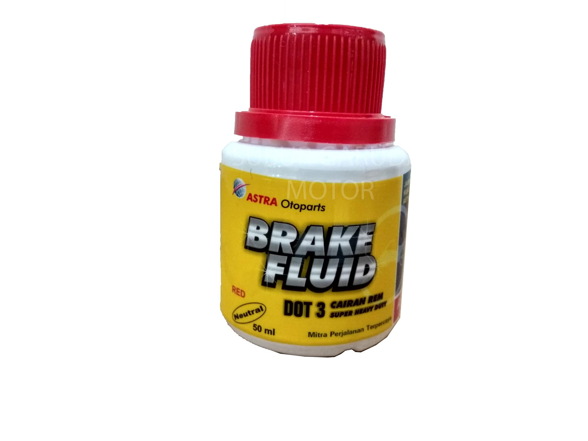 OLI REM ASPIRA 50 ML DOT 3 MINYAK CAIRAN BRAKE FLUID SNI